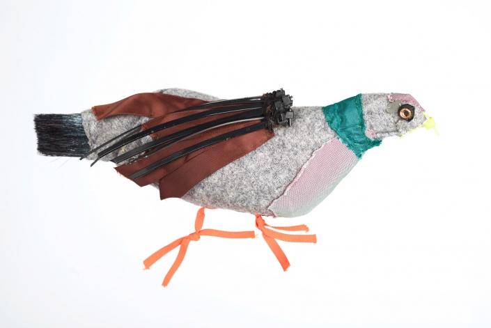 Grey Bird. Private Collection