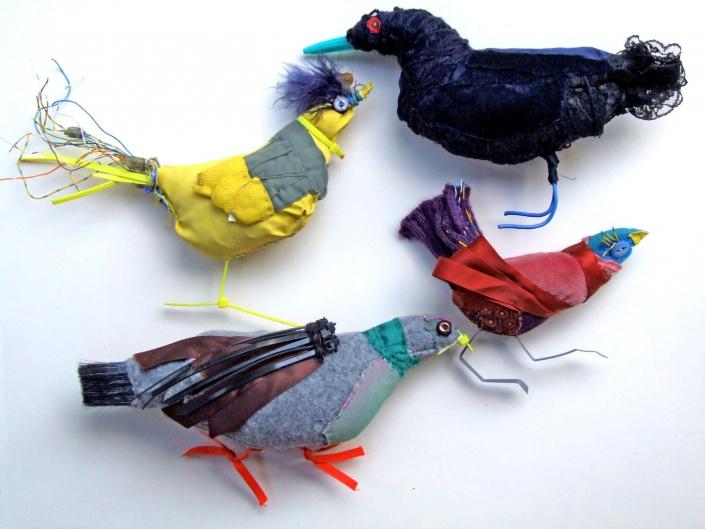 Flatbirds - a miscellany, Michèle Fuirer